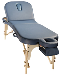 Comfort Portable massage Table with back rest